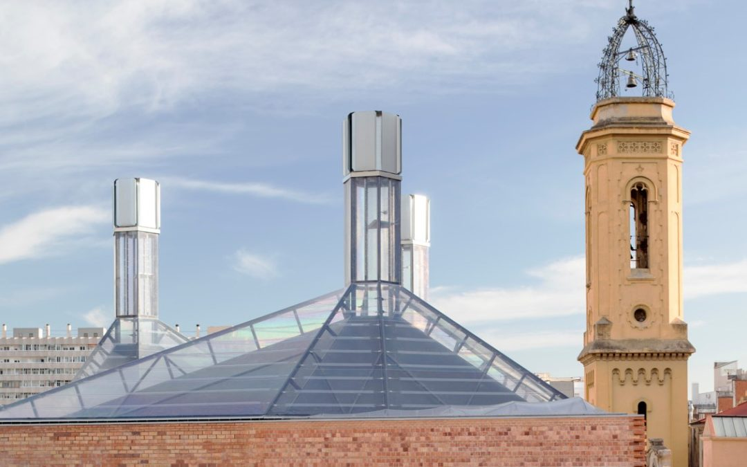 Cristaleria Planell – Take 1 – natural ventilation – natürliche Belüftung